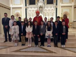 CONFIRMATION - CONGRATULATIONS TO ALL OUR P.7 PUPILS.