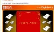 Write your own stories using the Storymaker