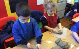 Hands On Hard Work in Primary 1 and 2