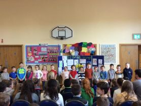 P1-2 ASSEMBLY & ST BRIGID'S CROSS MAKING