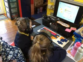 Using ICT - Primary 1 and 2
