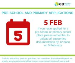 Pre and Primary School Applications